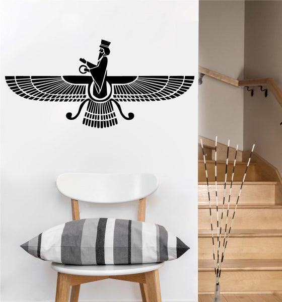 Farvahar Decal | Vinyl Wall Sticker