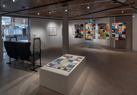 the jefferson grid hume learning centre gallery sunbury quilting embroidery drawing