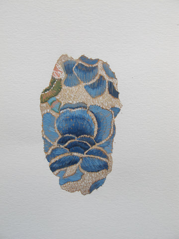 sample drawing fragment satin stitch chinese armbands guild collection
