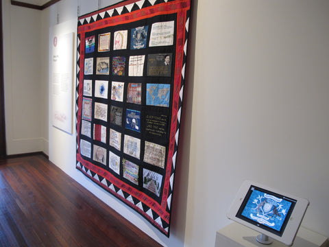 moad democracy udhr quilt project craftivism old parliament house canberra