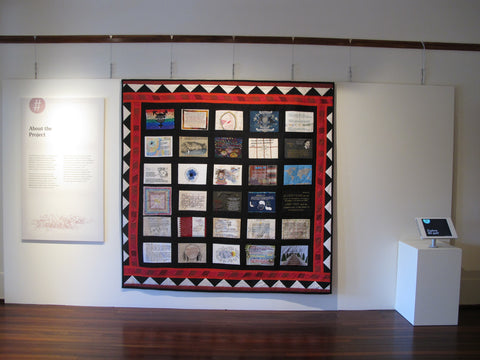 UDHR quilt project moad old parliament house canberra
