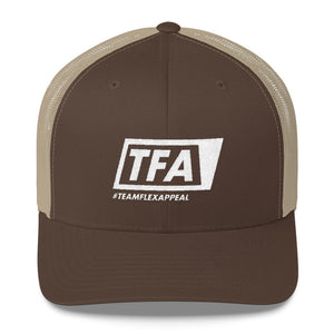 Team Logo Mesh Cap - FlexAppeal | What's Your #FLEXAPPEAL?