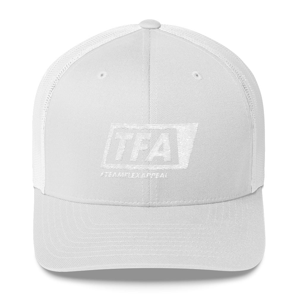 Team Logo Mesh Cap - ToddPhysique Coaching | TEAMFLEXAPPEAL Apparel