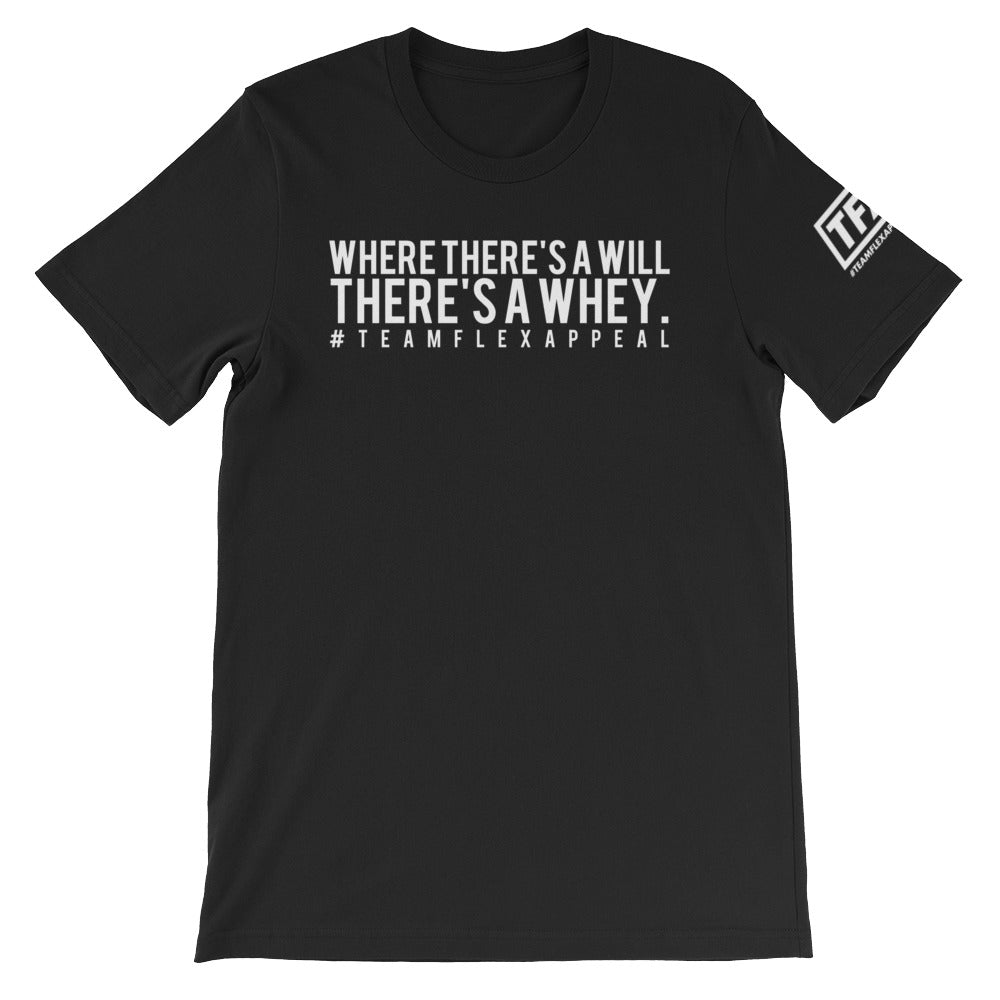 """There's A Whey"" Tee - ToddPhysique Coaching 
