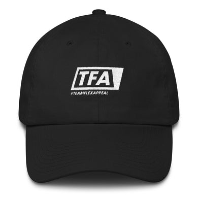 Team Logo Dad Hat - FlexAppeal | What's Your #FLEXAPPEAL?