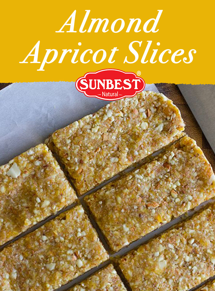 Almond Apricot Slices