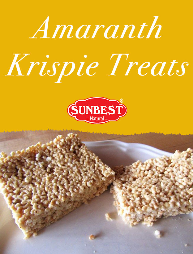 Amaranth Krispie Treats