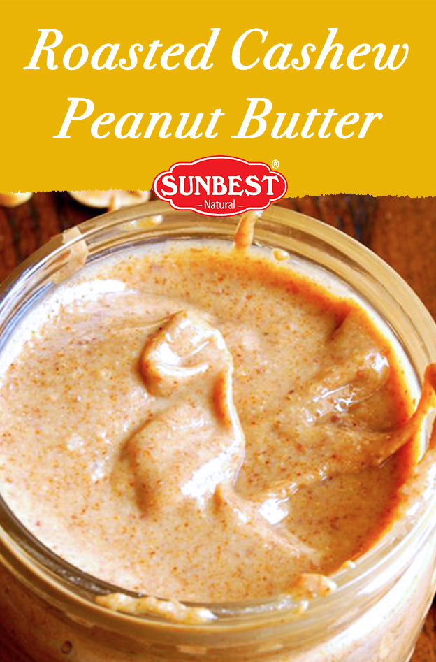 Roasted Cashew Peanut Butter