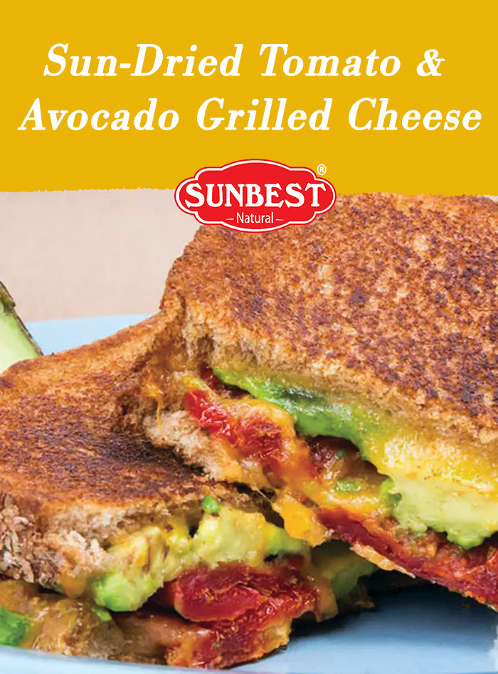 Sun-Dried Tomato & Avocado Grilled Cheese