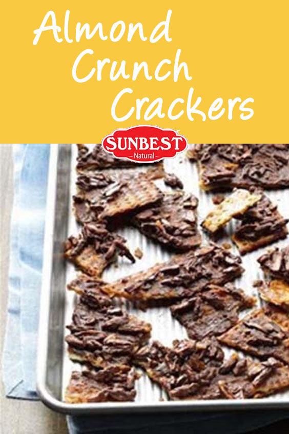 Almond Crunch Cracker Recipe