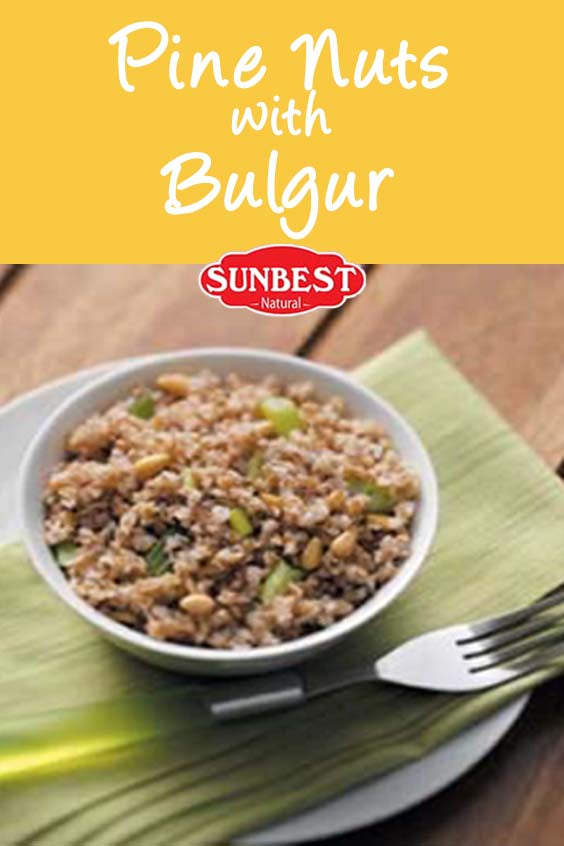 Pine Nuts with Bulgur Recipe