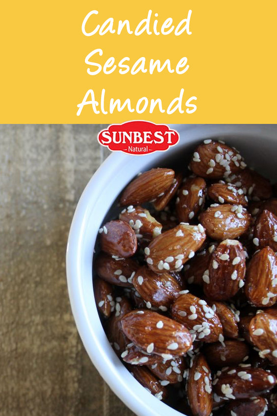 Candied Sesame Almonds Recipe