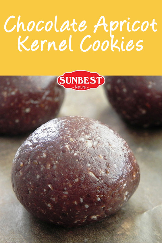 Chocolate Apricot Kernel Cookies Recipe
