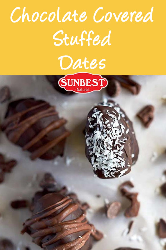 Chocolate Covered Stuffed Dates Recipe
