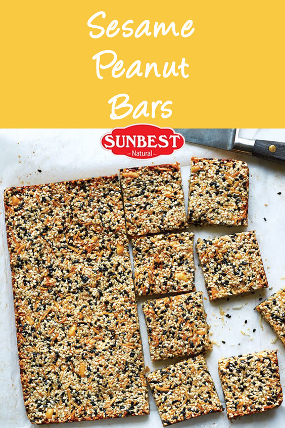 Sesame-Peanut Bar Recipe