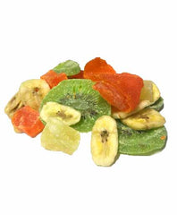 Tropical Dried Fruit Mix , Fruit Medleys ( Mango,Papaya,Pineapple, Banana Chips,Kiwi)