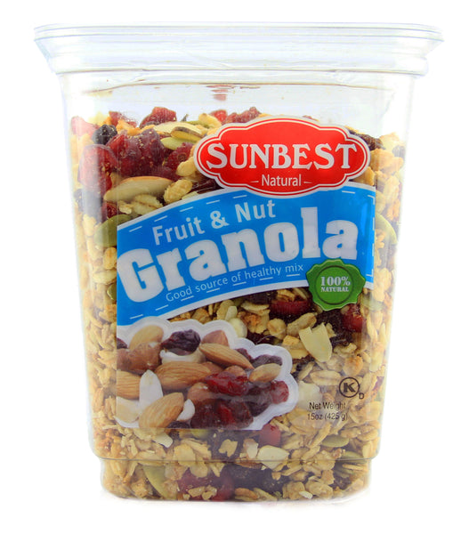 Granolas Fruit and Nuts - 4 Pack