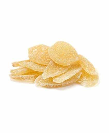 Dried Crystallized Ginger Slices