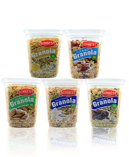 Assorted Granolas - 5 Pack