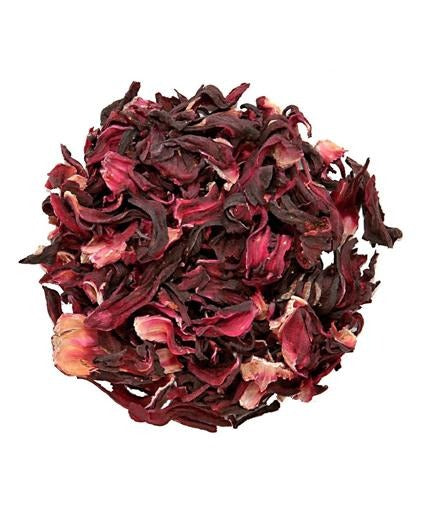 Organic Hibiscus Tea (Whole/Loose Leaf)
