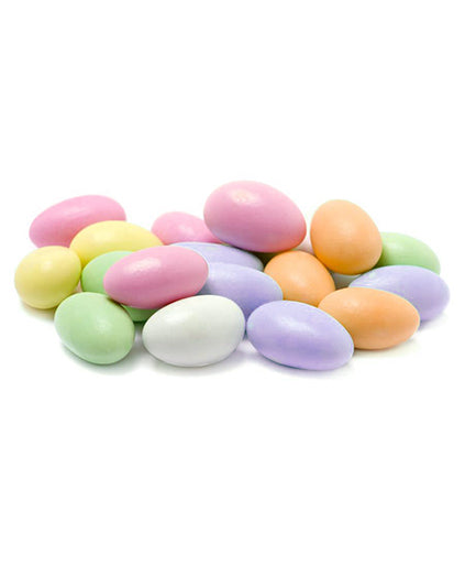 Assorted Pastel Color Jordan Almonds (Jumbo Size)