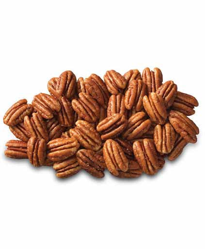 Raw Fancy Georgia  Mammoth Pecan Halves ( No Shell-Jumbo Size)