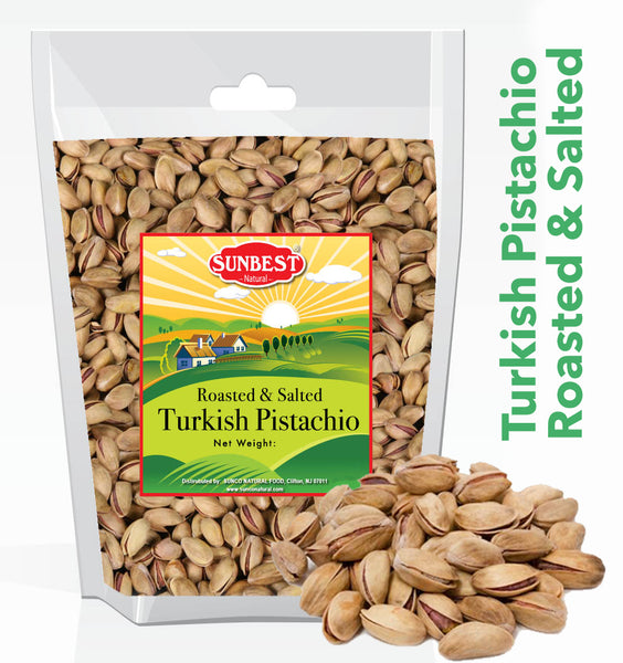 Turkish Pistachios Roasted and Salted