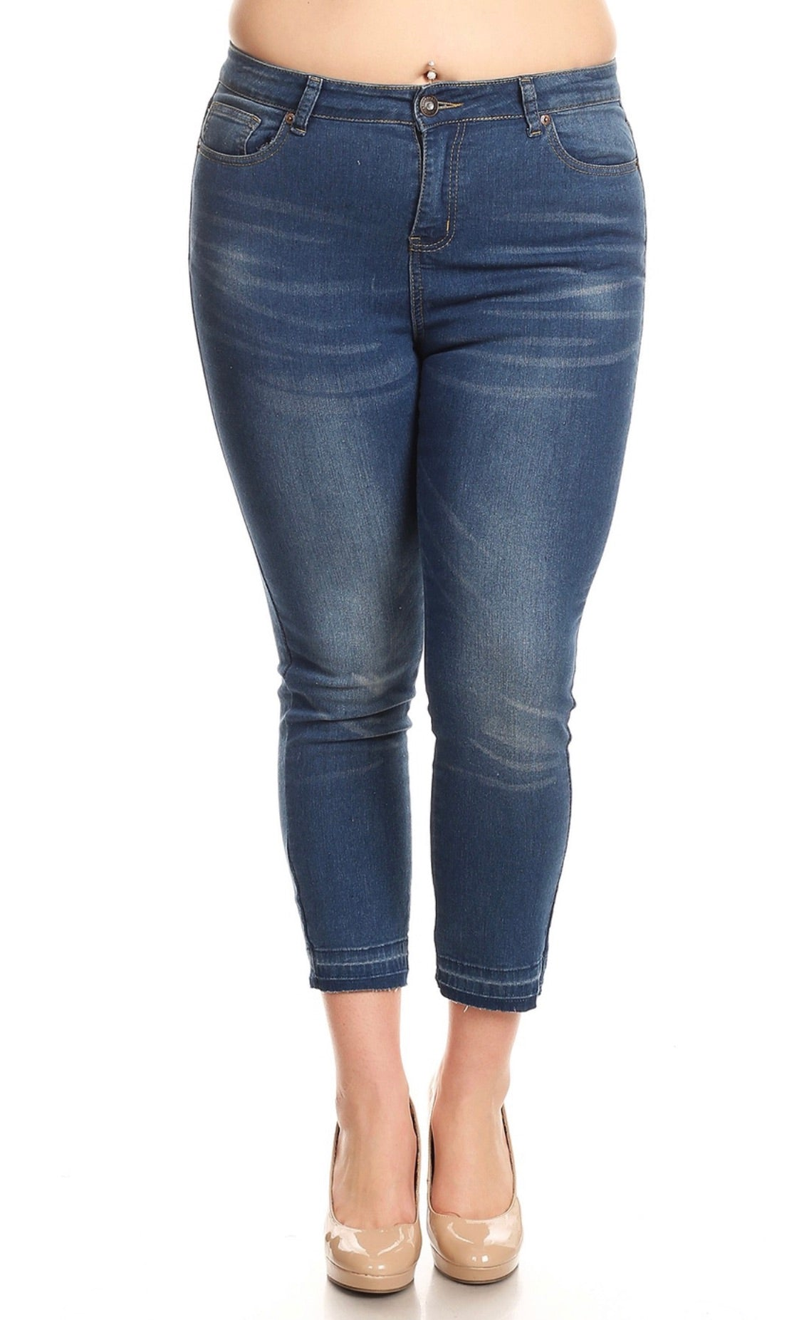Enjoy Denim Brand Plus Size Skinny Jeans