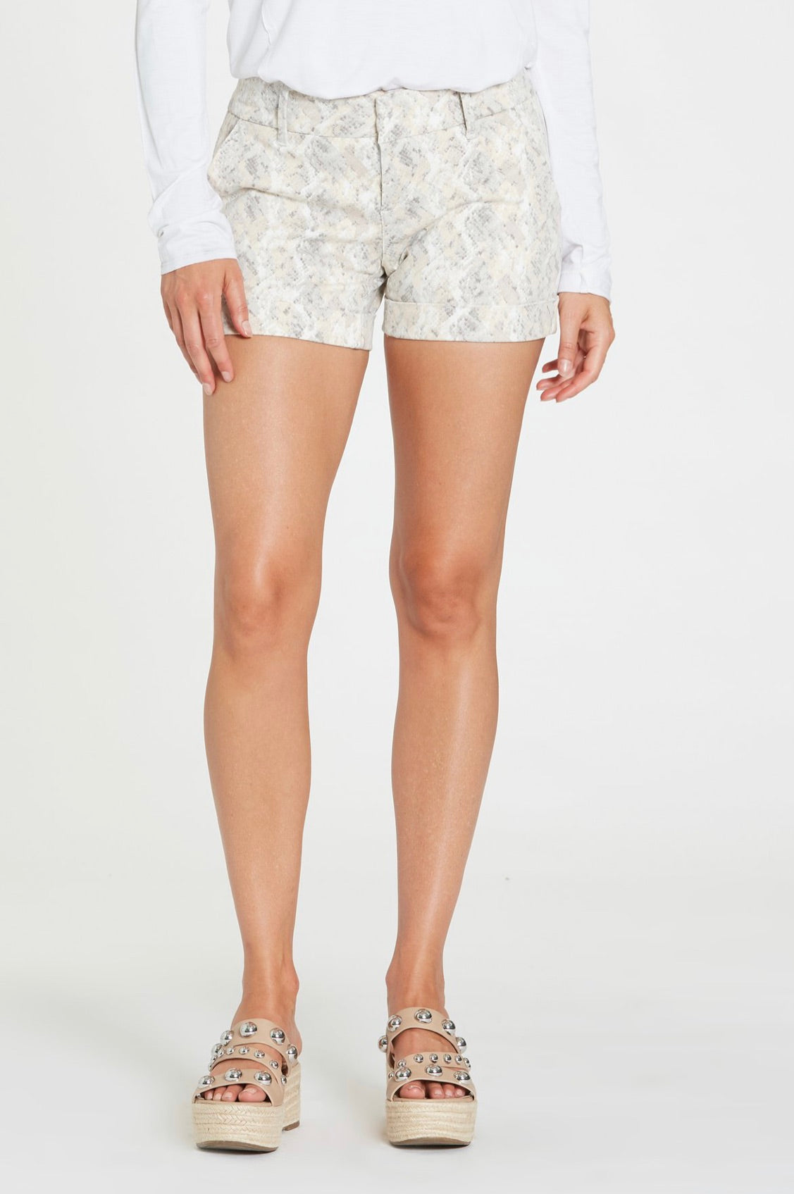 Dear John Hampton Comfort Shorts in Thistle Snake