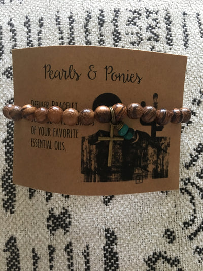 Pearls and Ponies Defuser Bracelets