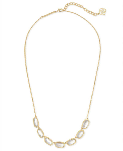 Grayson Short Strand Necklace in Gold