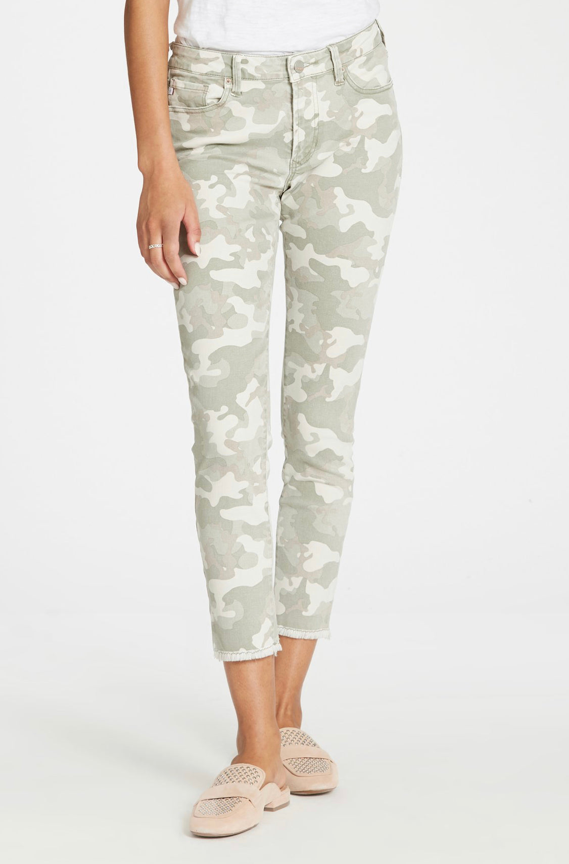 Dear John Camo Gisele HIgh-Waisted Skinny