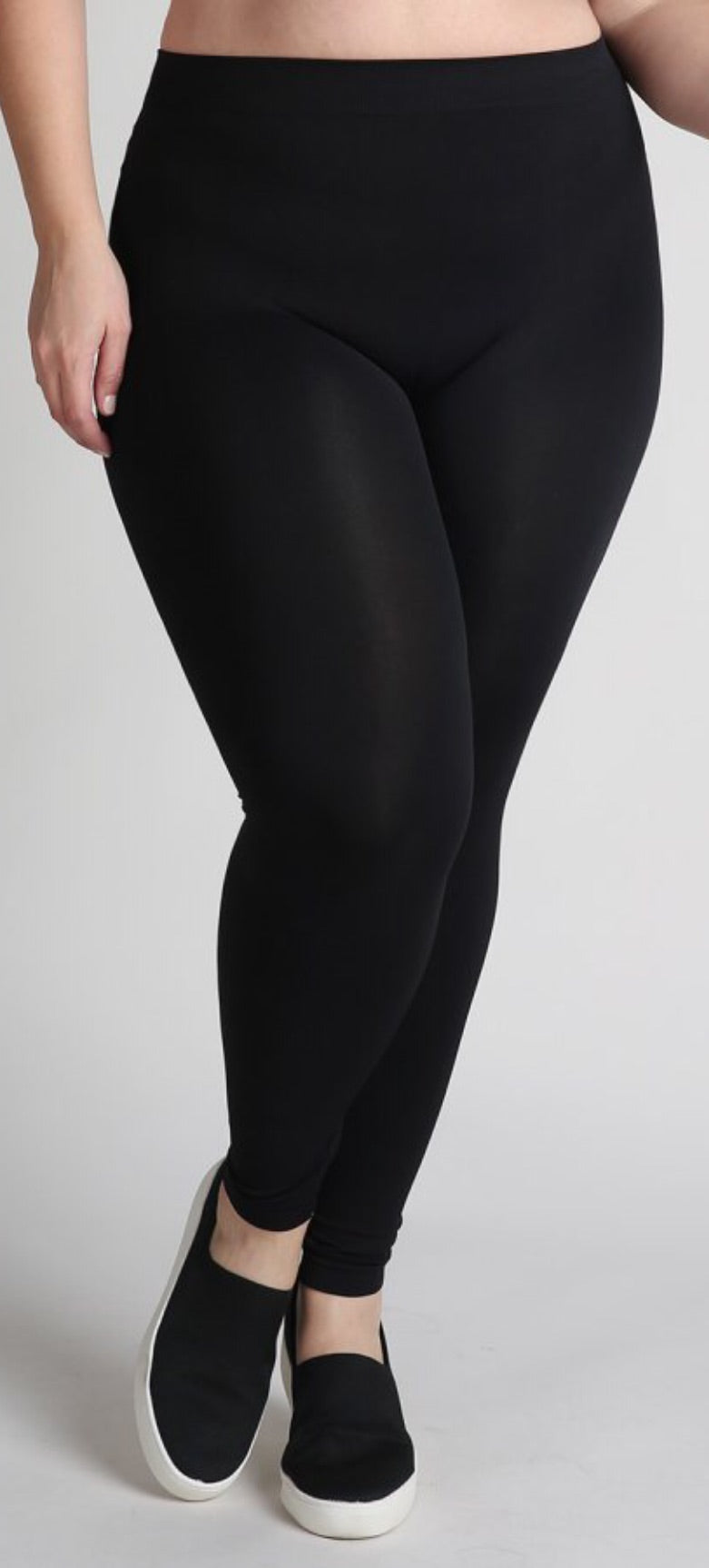 Plus Size Ankle Length Leggings
