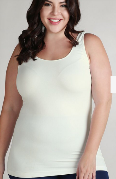 Plus Size Tank Top Jersey