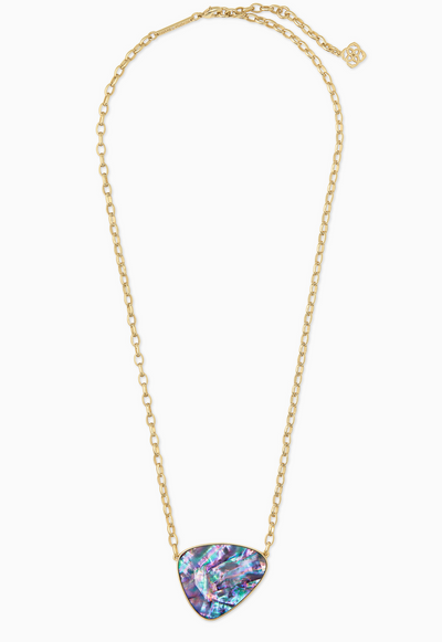 Mckenna Gold Pendant Necklace