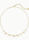 Mollie Choker Necklace in Gold