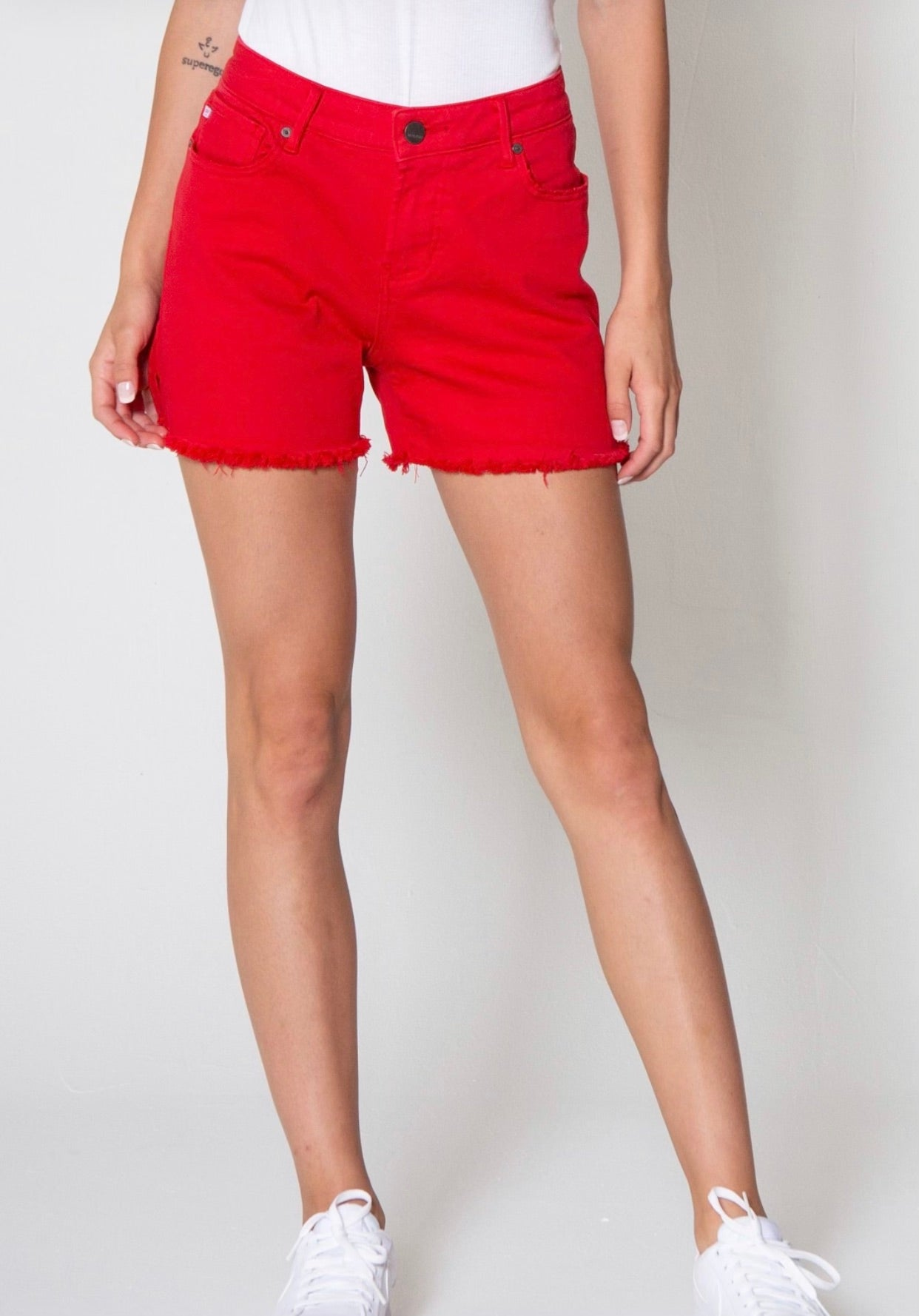 Dear John Gigi Shorts in Red