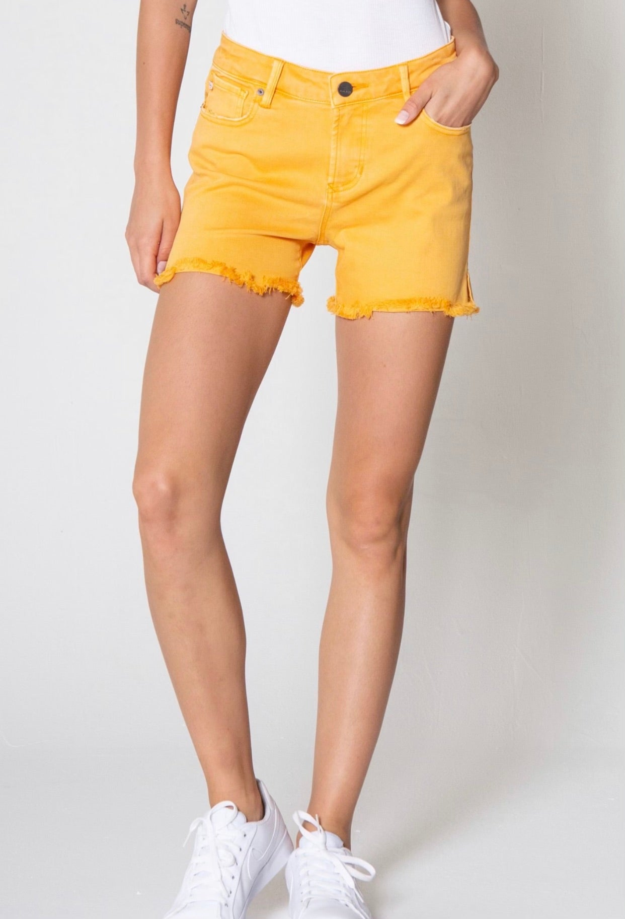 Dear John Gigi Shorts in Mango
