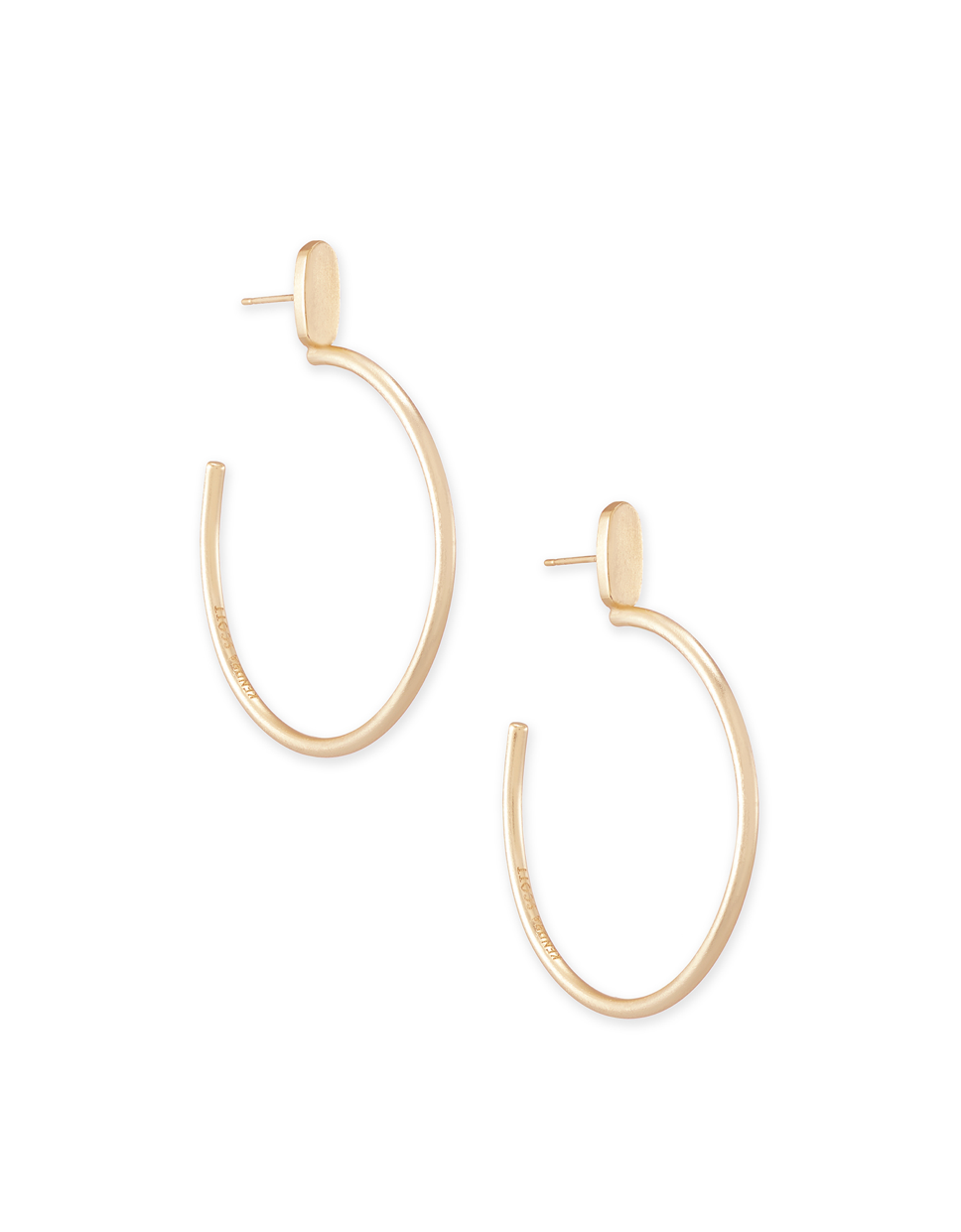 .Small Pepper Hoop Earrings In Rose Gold