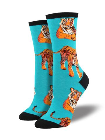 Socksmith Women's Socks-Tigers