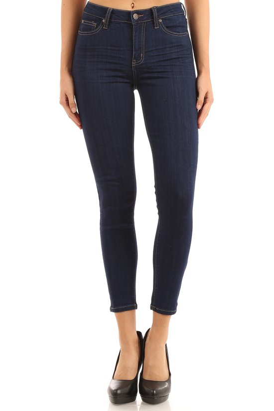Celebrity Pink Jeans-Curvy Mid-Rise Ankle Skinny