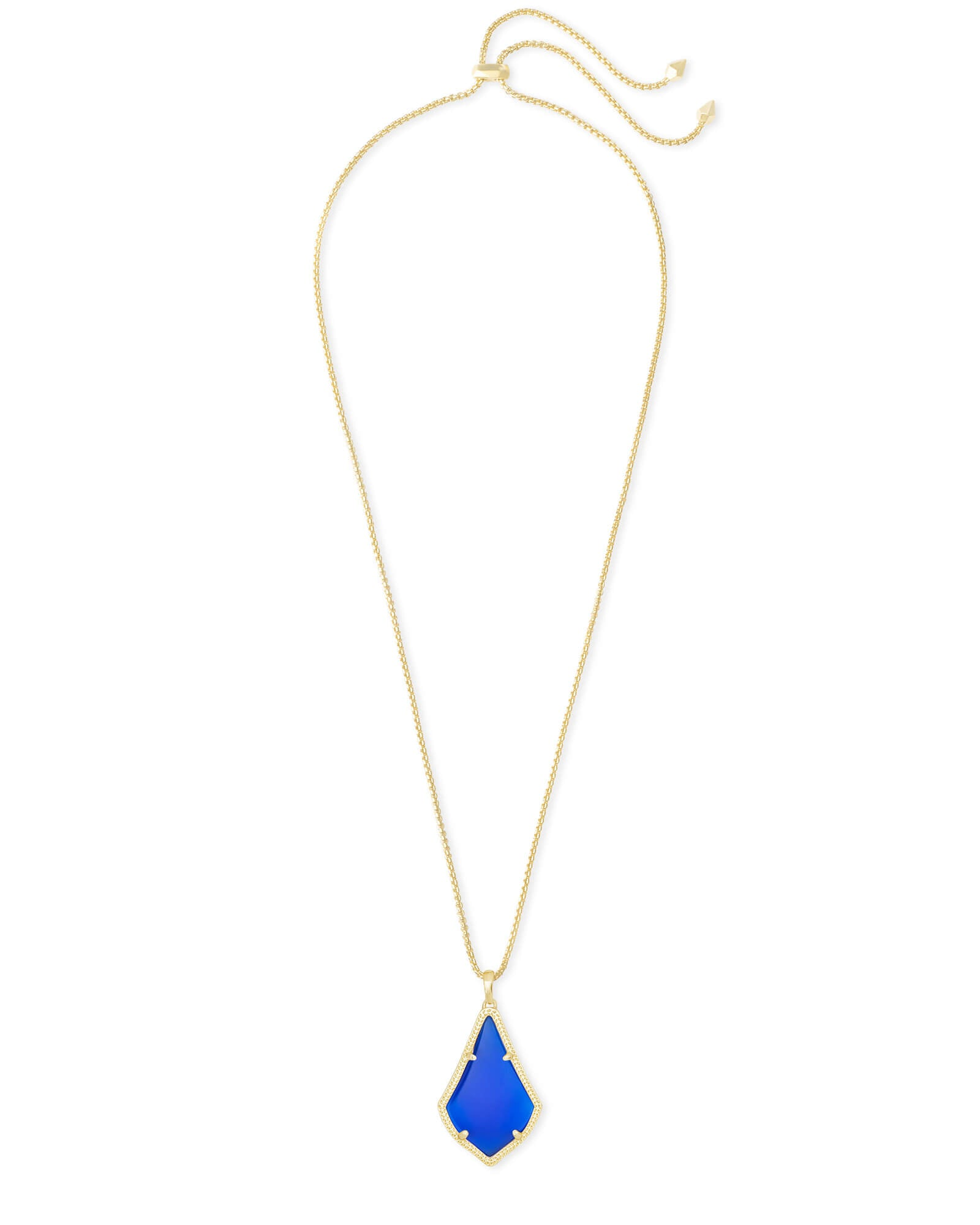 Alex Pendant Necklace in Gold