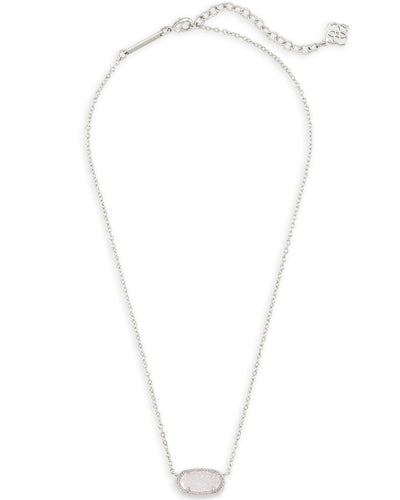 Elisa Pendant Necklace in Silver