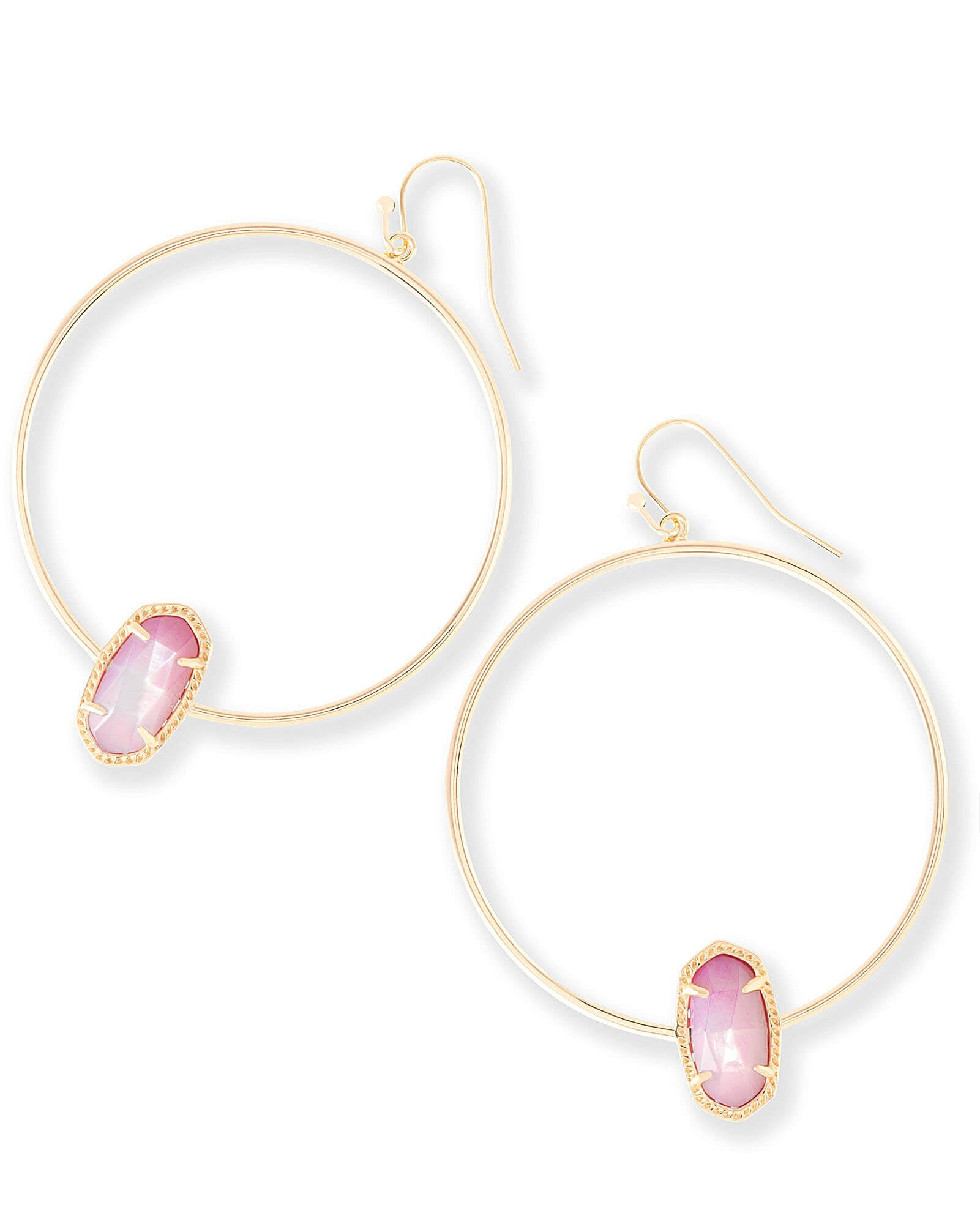 metallic gold s women lyst jewelry product at previously gallery in ippolita fifth medium sold avenue jewellery earrings hoop chunky saks