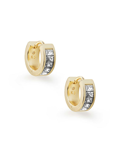 Jack Gold Huggie Earrings