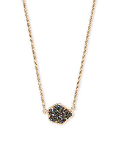 Tess Gold Pendant Necklace