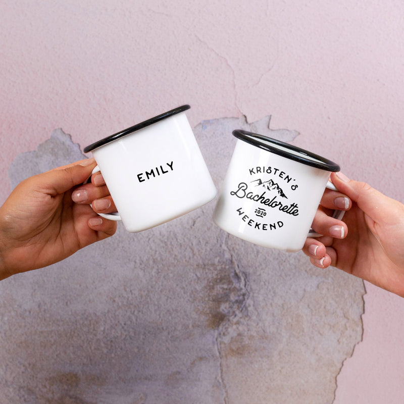 Bachelorette Party Cups - Mountains