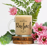 Bridesmaid Maid of Honor Glass Mug