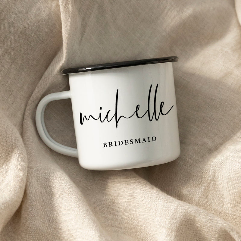 Groomswoman Bridesmaid Maid Of Honor Camping Mug