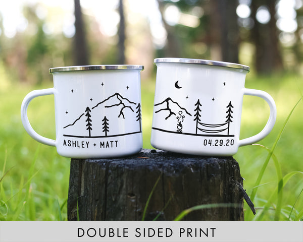 Personalized Camping Mugs - Hammock